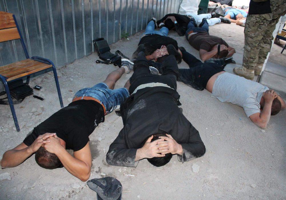 """В Кропивницькому затримали учасників кримінальної """"сходки"""". ФОТО. ВІДЕО 3"""