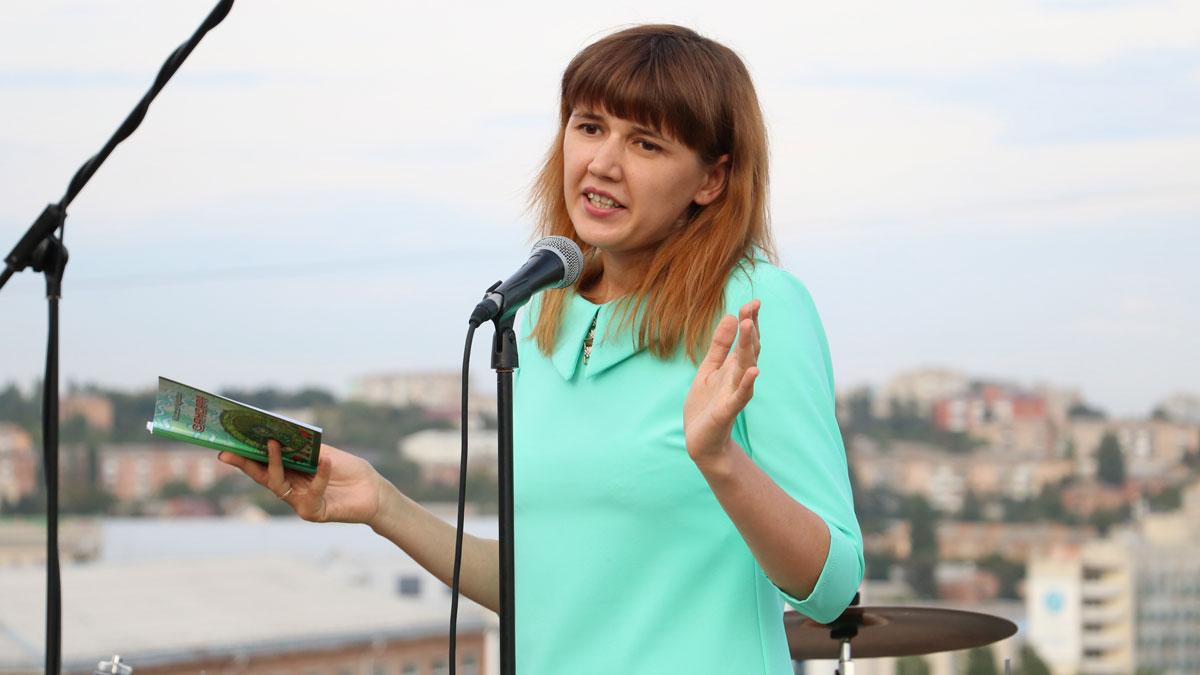 У Кропивницькому провели вечір поезії і музики на даху. ФОТОРЕПОРТАЖ - 2 - Фото - Без Купюр