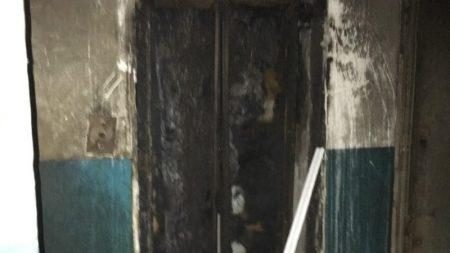У будинку на Попова вигорів ліфт та провалився на перший поверх. ФОТО