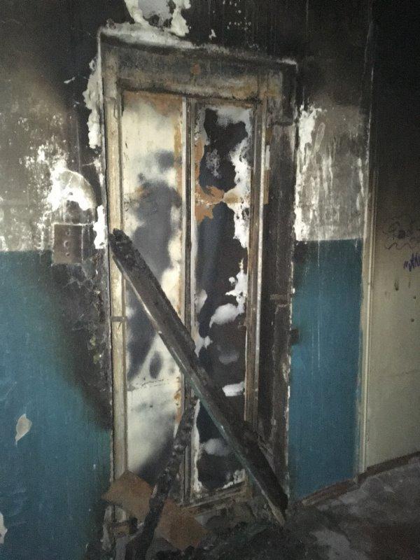 Без Купюр У будинку на Попова вигорів ліфт та провалився на перший поверх. ФОТО Події  пожежа ліфт Кропивницький