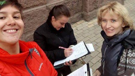 Активісти зібрали кілька сотень підписів до Мінекології проти знищення дерев у Кропивницькому