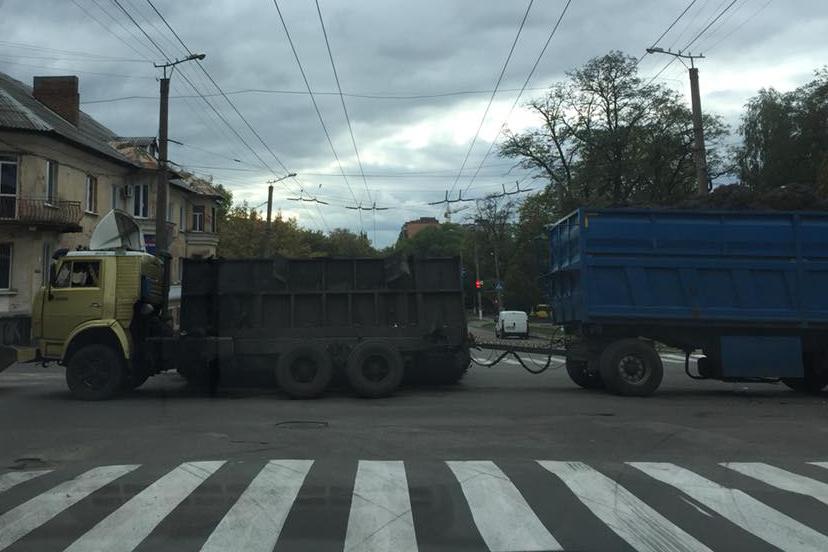 У Кропивницькому у вантажівки відірвався кузов. ФОТОФАКТ - 3 - Події - Без Купюр