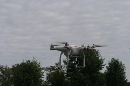 Перегони та затримання злочинців: у Кропивницькому показали, на що здатні дрони. ФОТО