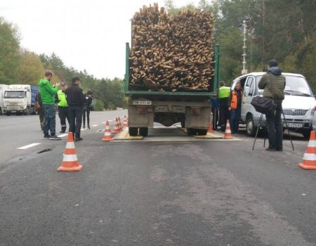 На Кіровоградщині при перевірці фур на ваговому комплексі виявили порушень майже на 200 тисяч євро