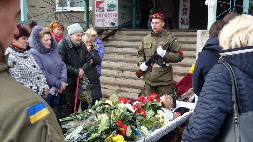 В Олександрії поховали комбата з 36-ї бригади морської піхоти. ФОТО - 1 - Життя - Без Купюр