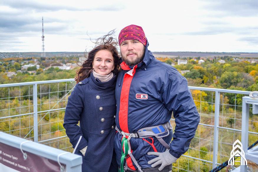 Валерія Мучлер (автор) із Вадимом Хрипливим