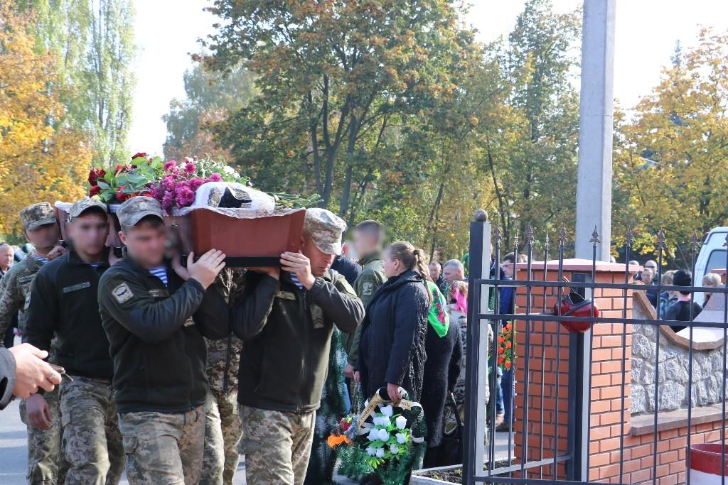 Кропивницький попрощався із військовим 57-ї бригади Андрієм Беспаловим. ФОТО - 4 - Війна - Без Купюр