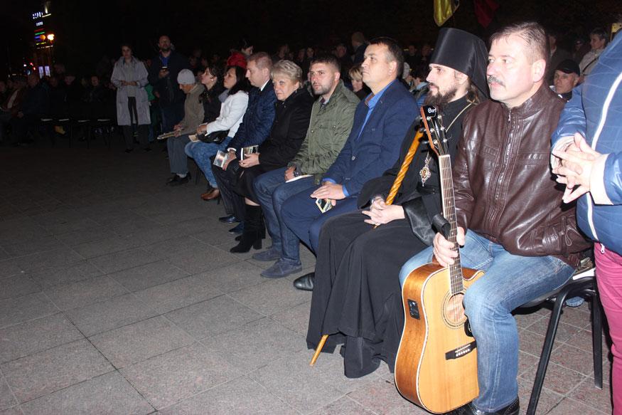 Вечір пам'яті 179 героїв АТО в Кропивницькому: як це було. ФОТО