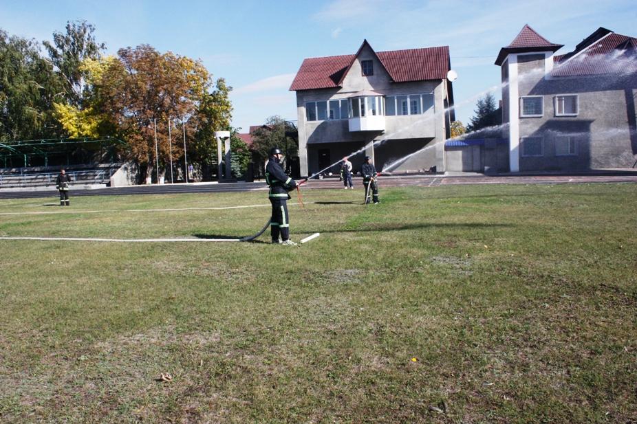 На Кіровоградщині стартували змагання пожежників. ФОТО 5