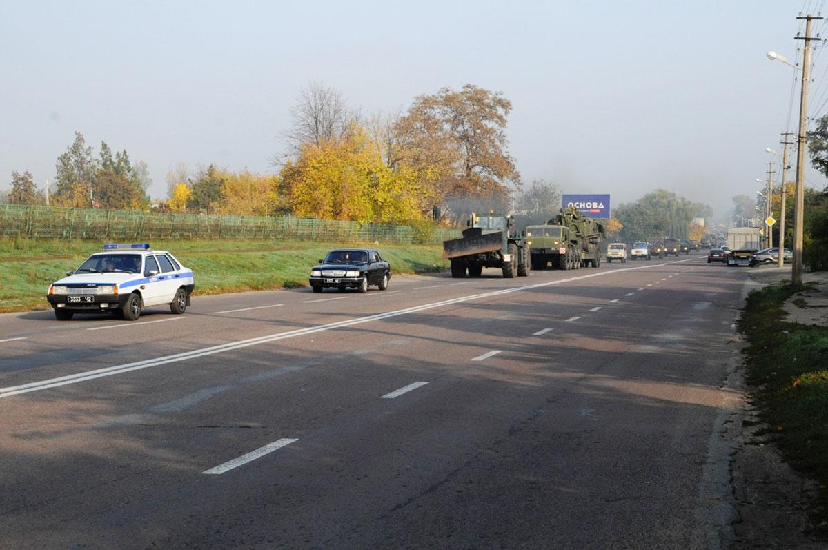 Без Купюр Рятувальники провели марш спецтехніки. ФОТО Події  призначення марш Кропивницький авто