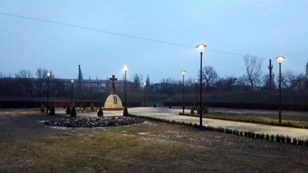 У Кропивницькому зловмисники викрали 16 кущів самшиту біля пам'ятника Жертвам Голодомору. ФОТО