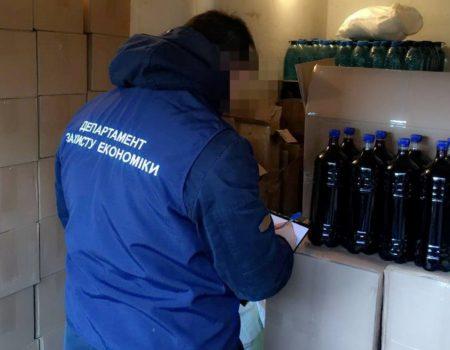 У Кропивницькому вилучили з обігу чотири тонни фальсифікованого алкоголю. ФОТО