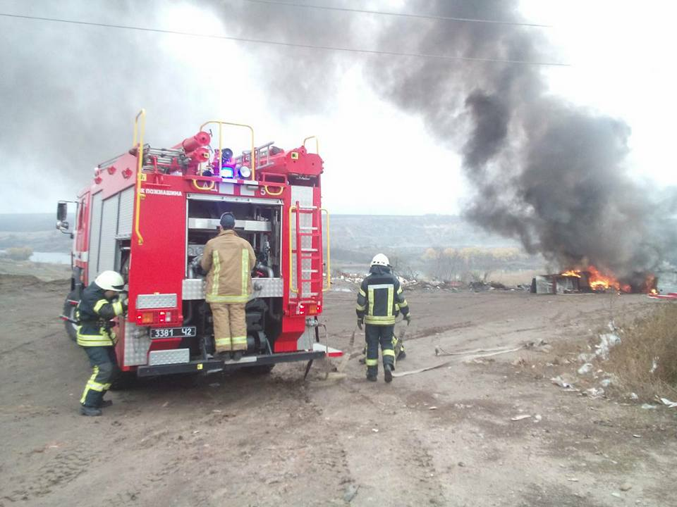 У Кропивницькому біля Сугоклеї спалювали старі холодильники. ФОТО, ВІДЕО 4