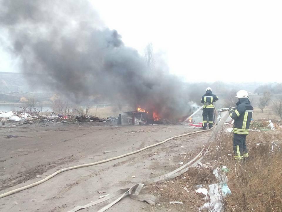 У Кропивницькому біля Сугоклеї спалювали старі холодильники. ФОТО, ВІДЕО 5
