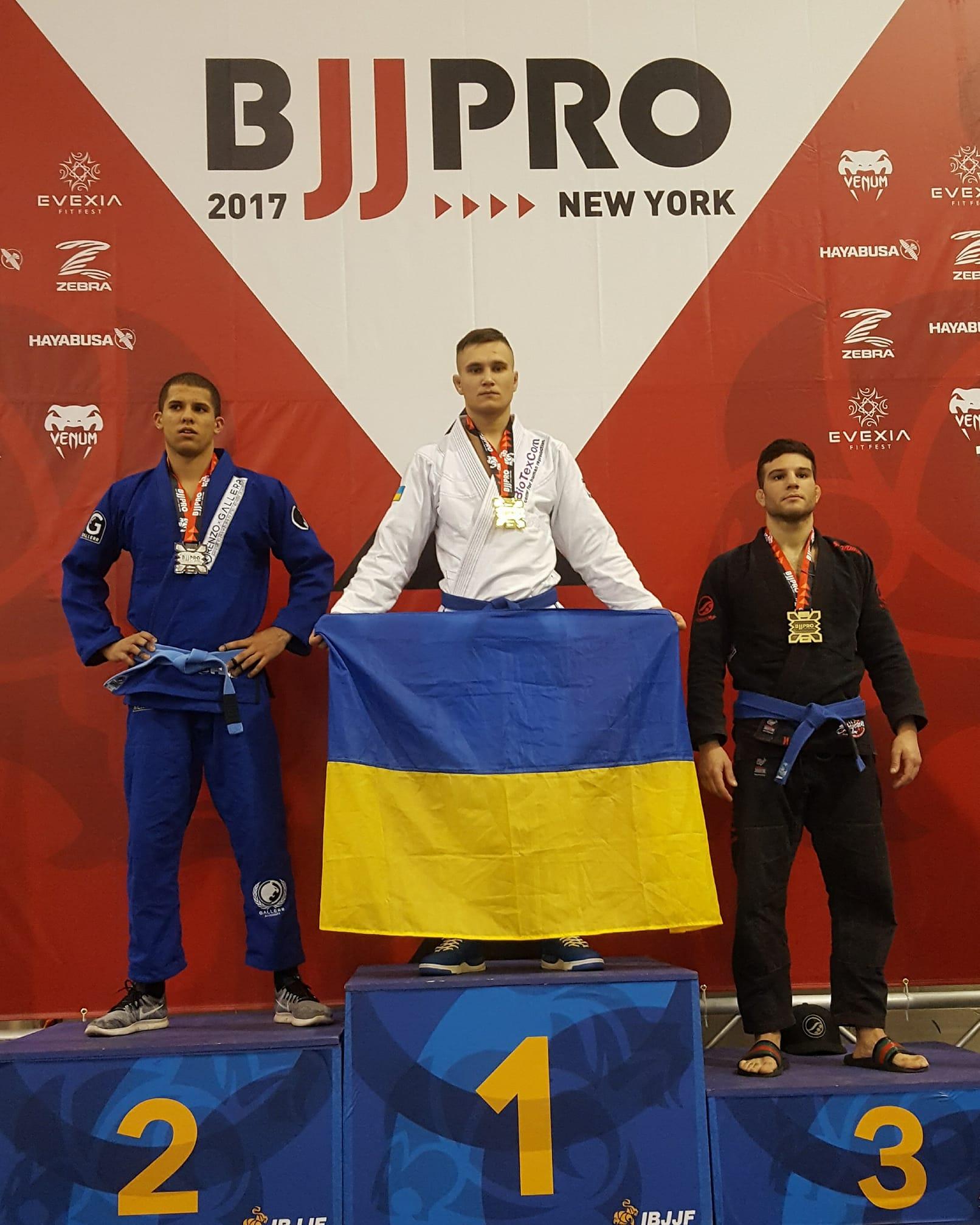 Кропивничанин здобув перше місце в престижному чемпіонаті з джіу-джитсу в Нью-Йорку - 1 - Спорт - Без Купюр