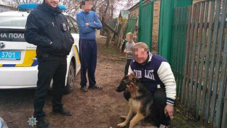 Жінка вимагала 30 тисяч за собаку сусіда, але попалась на дзвінку від поліцейських. ФОТО