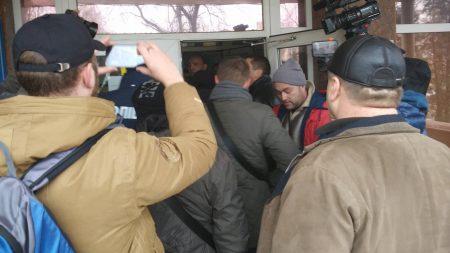 Активісти прорвалися в «Кіровоградгаз». ФОТО, ВІДЕО
