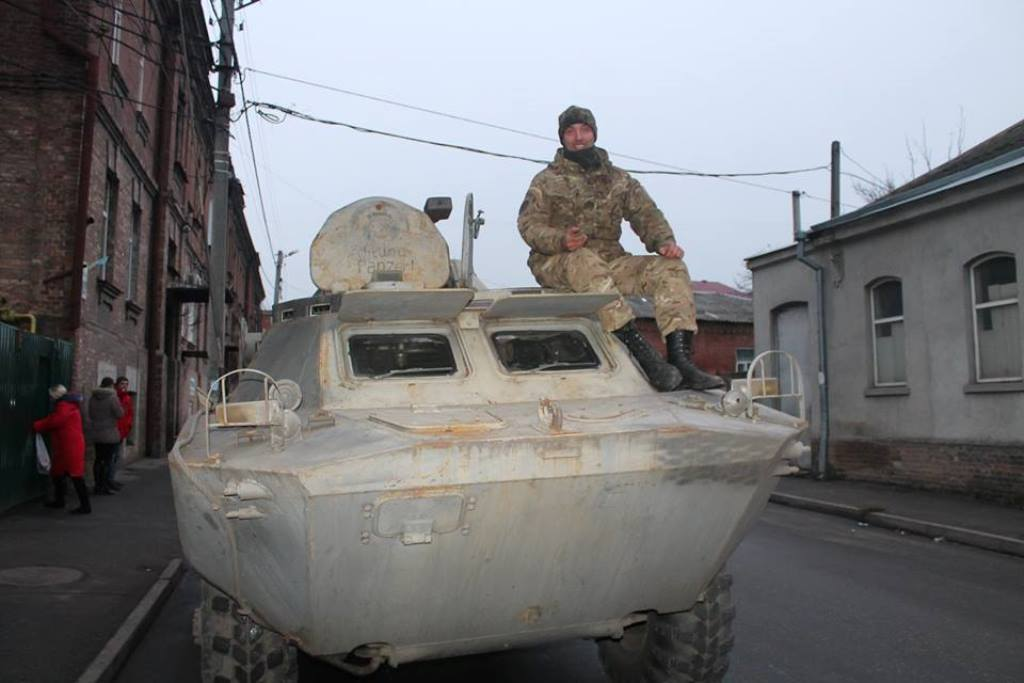Батальйон «Святослав» повернувся із зони АТО у Кропивницький. ФОТО - 3 - Війна - Без Купюр