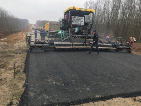 Служба автомобільних доріг показала, як просувається будівництво об'їзної траси навколо Знам'янки. ФОТО