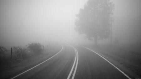 На дорогах Кіровоградщини обмежена видимість та мокре покриття