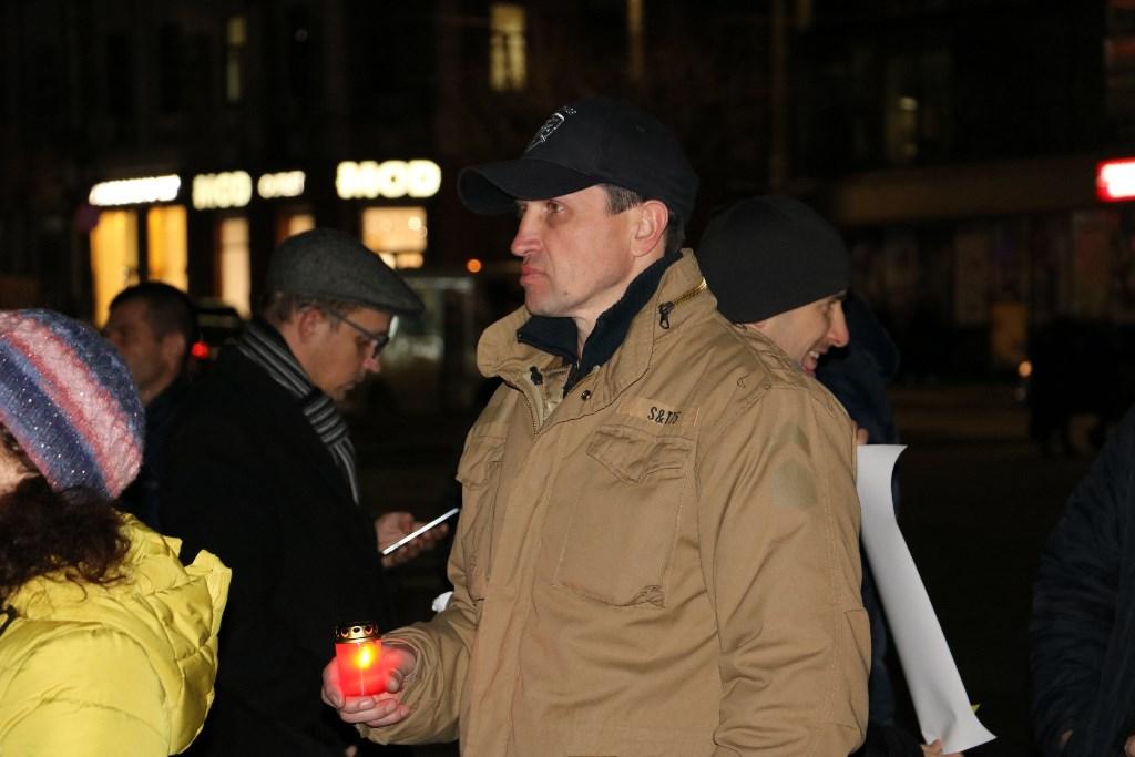 Якщо не об'єднаємося - не встоїмо, але й поєднуватися з тими, хто забув, чому йшли на Майдан, не пристало - священик Рафаїл 6