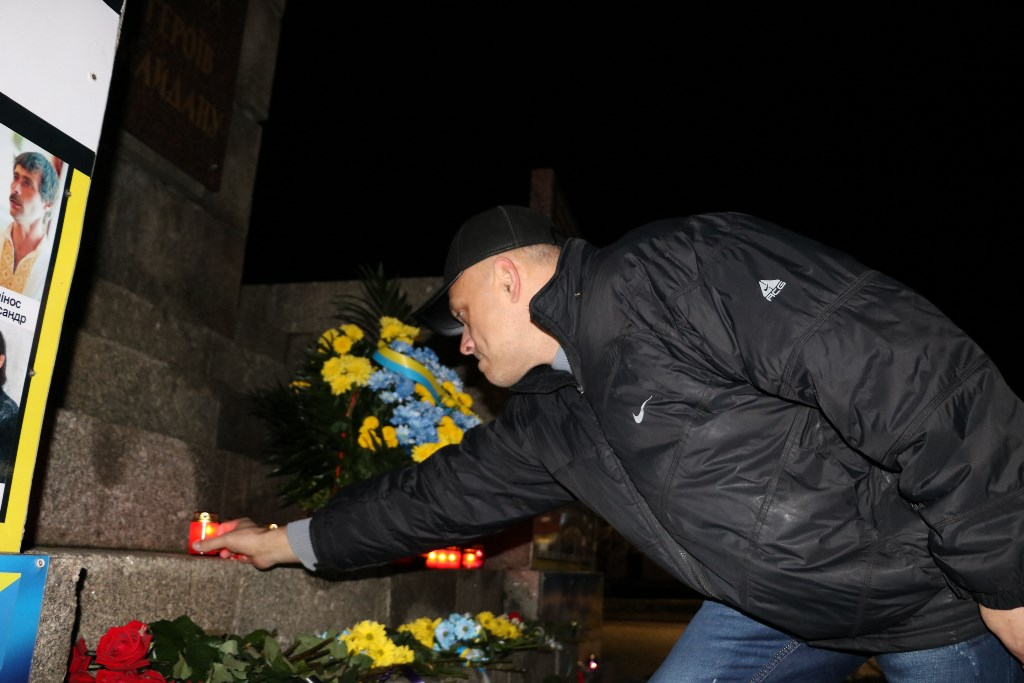 Без Купюр Якщо не об'єднаємося - не встоїмо, але й поєднуватися з тими, хто забув, чому йшли на Майдан, не пристало - священик Рафаїл Життя  Україна Майдан Кропивницький Євромайдан