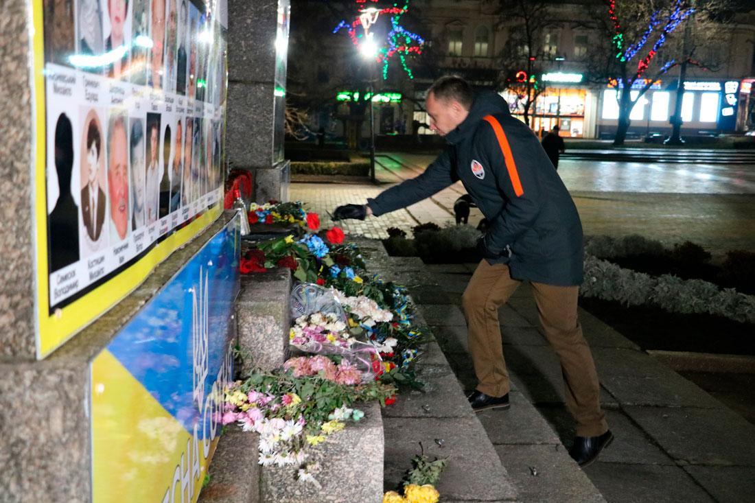 У Кропивницькому пройшов мітинг до річниці розгону Євромайдану. ФОТО - 7 - Життя - Без Купюр
