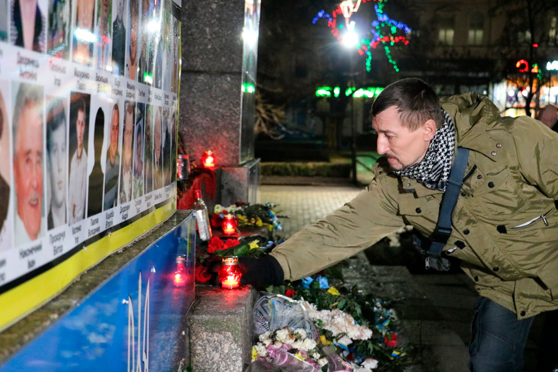 У Кропивницькому пройшов мітинг до річниці розгону Євромайдану. ФОТО - 8 - Життя - Без Купюр