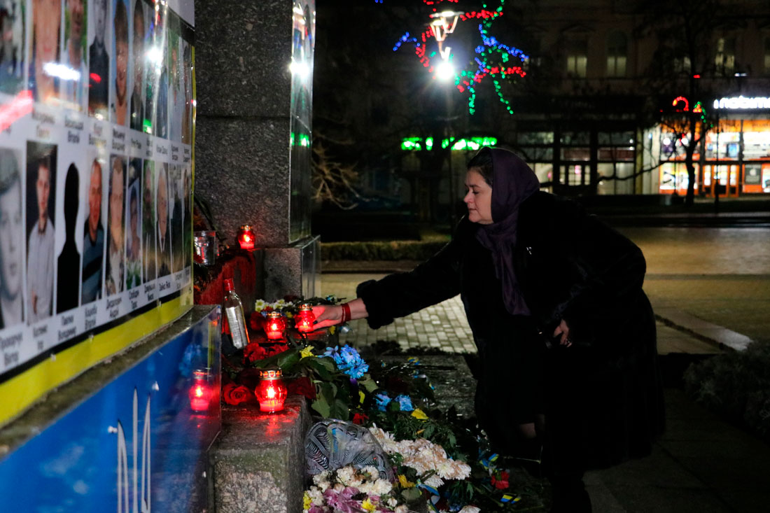 У Кропивницькому пройшов мітинг до річниці розгону Євромайдану. ФОТО - 9 - Життя - Без Купюр