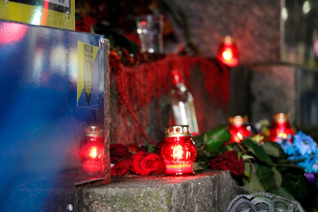 Без Купюр У Кропивницькому пройшов мітинг до річниці розгону Євромайдану. ФОТО Життя  Революція гідності мітинг Кропивницький Євромайдан