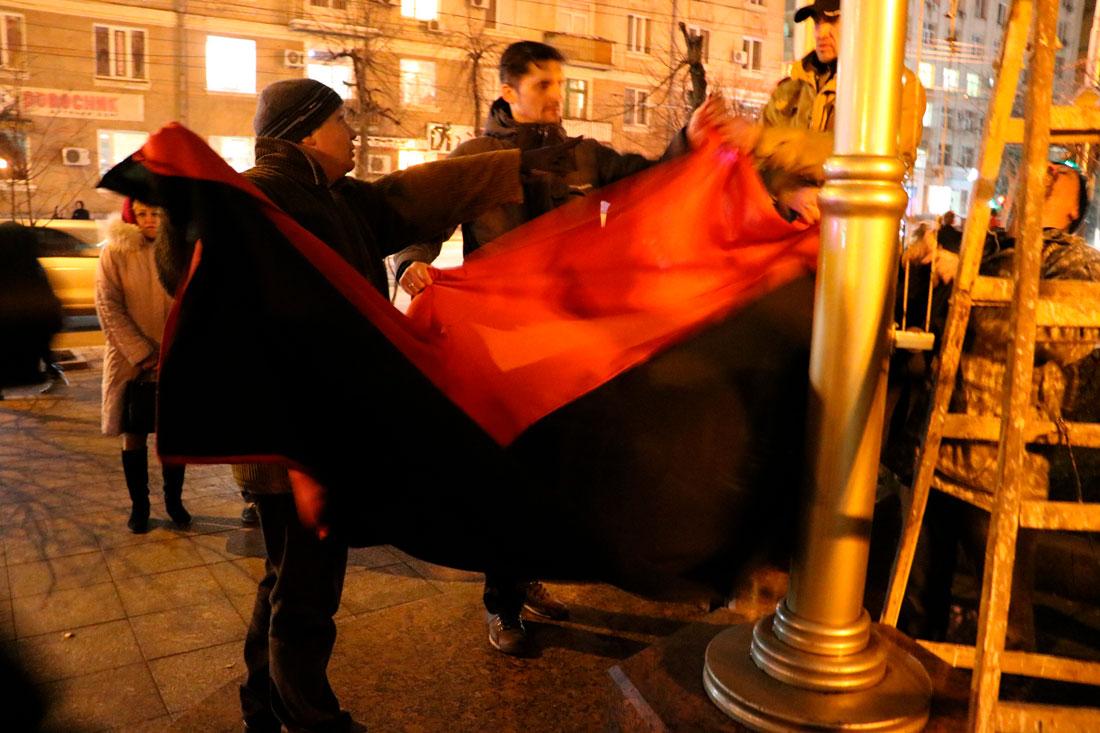 У Кропивницькому пройшов мітинг до річниці розгону Євромайдану. ФОТО - 16 - Життя - Без Купюр