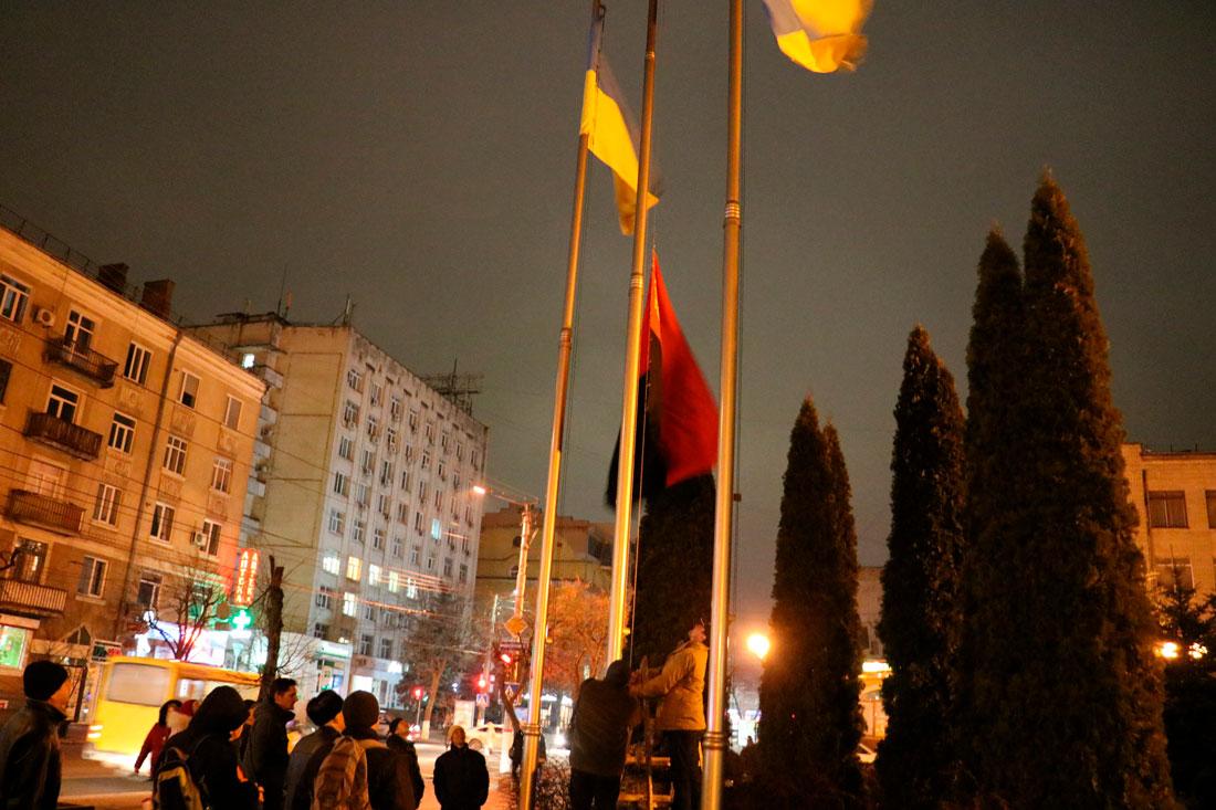 У Кропивницькому пройшов мітинг до річниці розгону Євромайдану. ФОТО - 18 - Життя - Без Купюр
