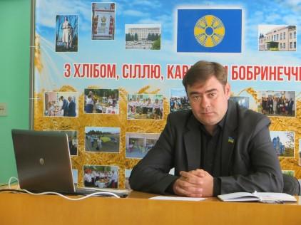 Суд обрав запобіжний захід підозрюваному у хабарництві голові Бобринецької РДА