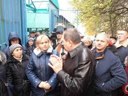 """Райкович переговорив з Онулами про ситуацію з підприємцями """"Європейського"""" ринку. ФОТО"""