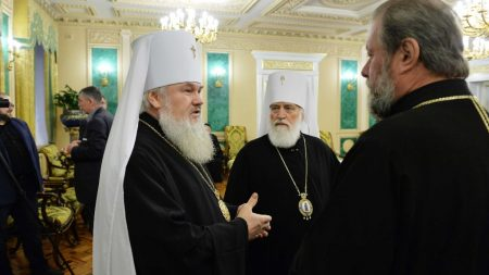 Митрополит Іоасаф знову поїхав до Москви на Синод Руської Православної церкви. ФОТО