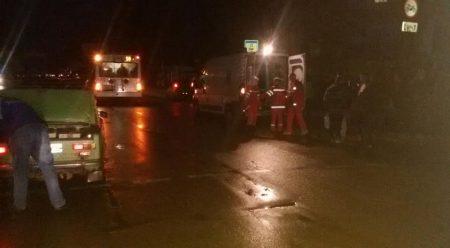 У Кропивницькому через відсутність світла по вулиці Полтавській водій не побачив пішохода. ФОТО