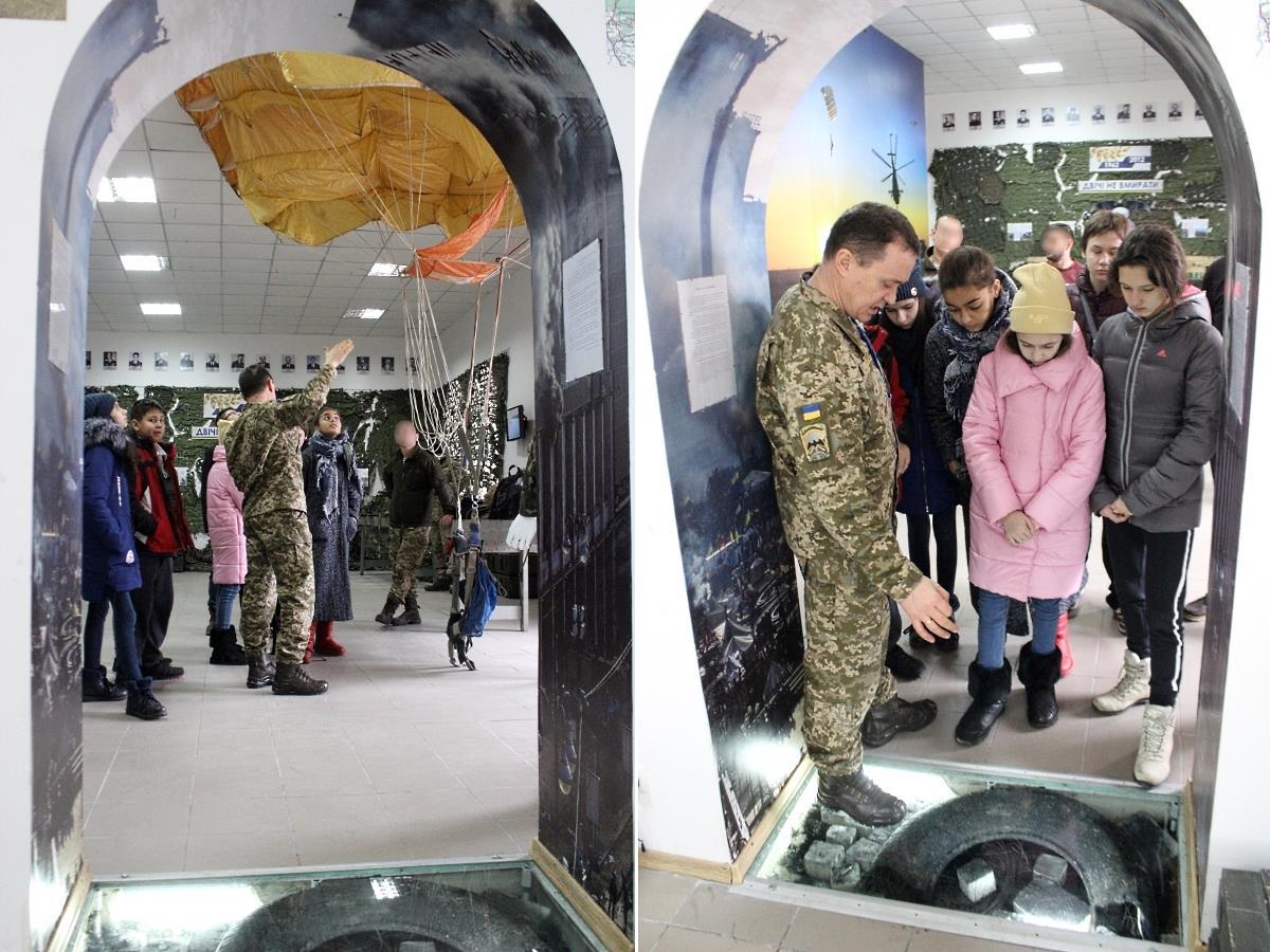 Без Купюр | Події | У Кропивницькому учні альтернативної школи побували в музеї спецпризначенців. ФОТО 4