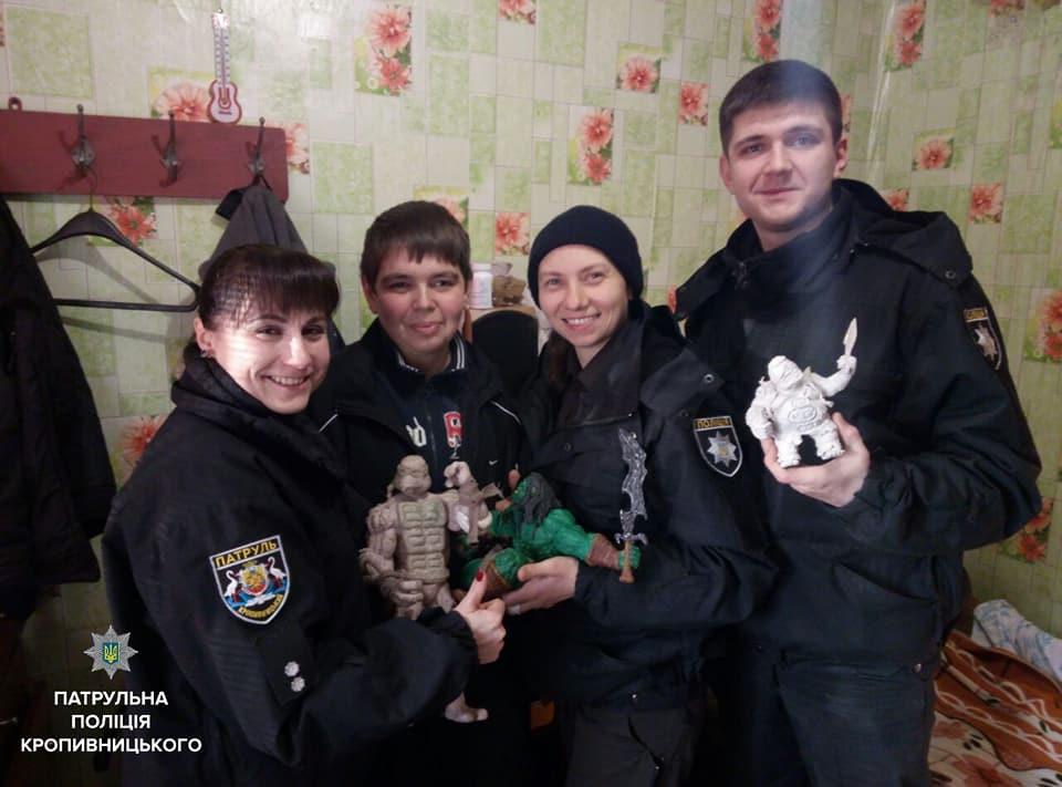 Патрульні Кропивницького здійснили мрію сироти з особливими потребами. ФОТО 7