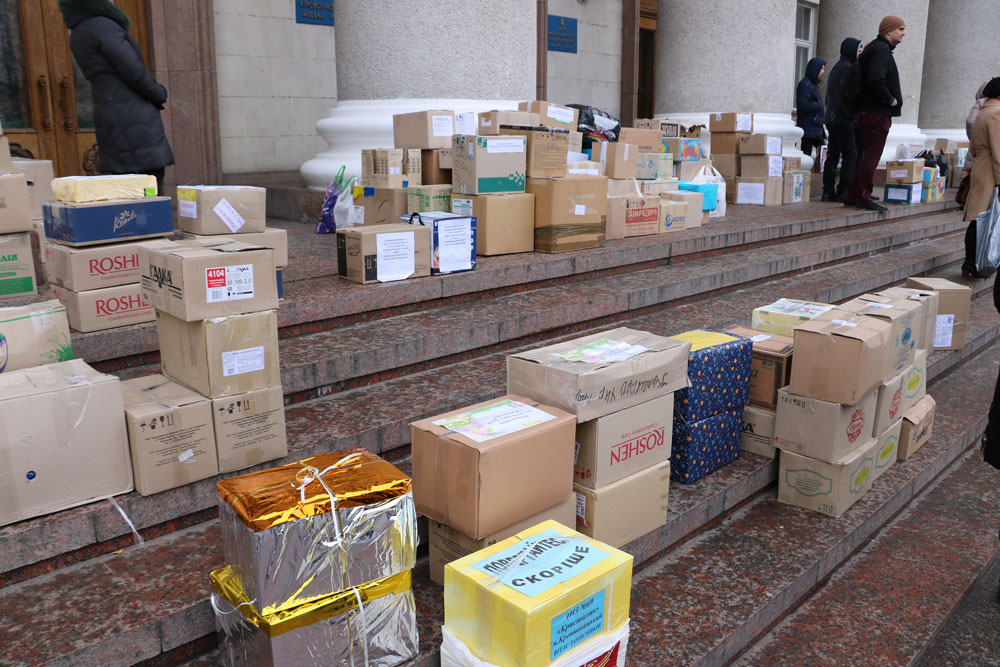 У Кропивницькому зібрали десятки пакунків допомоги для військових. ФОТО 1 - Життя - Без Купюр