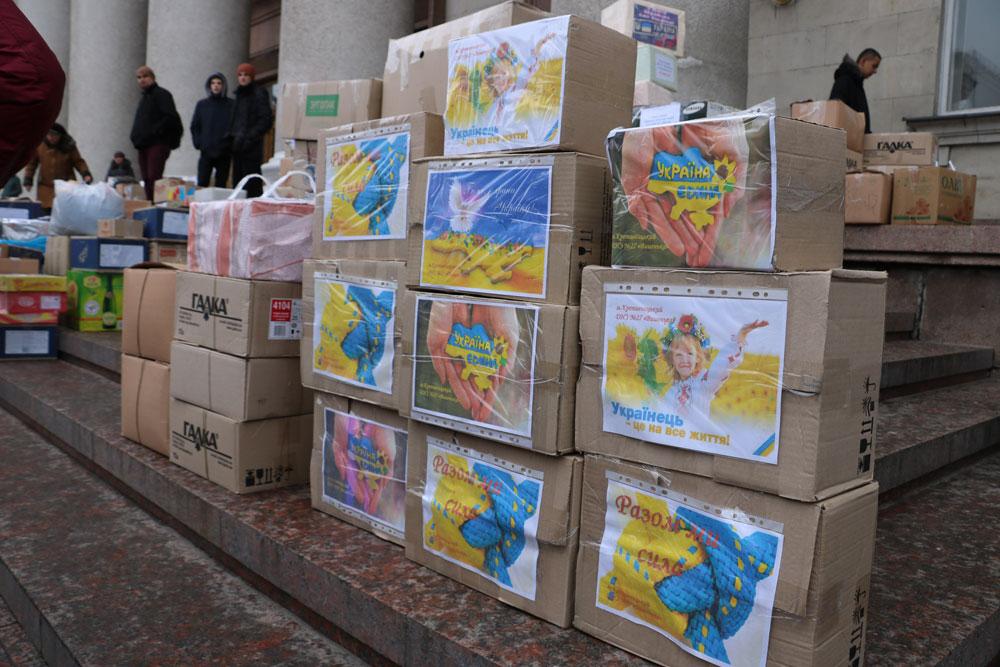 У Кропивницькому зібрали десятки пакунків допомоги для військових. ФОТО 13 - Життя - Без Купюр