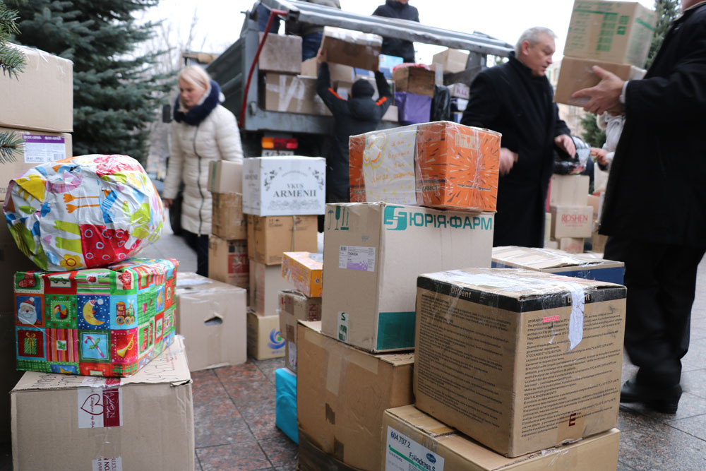 У Кропивницькому зібрали десятки пакунків допомоги для військових. ФОТО 24 - Життя - Без Купюр