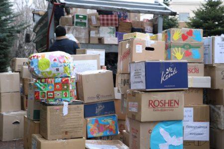 У Кропивницькому зібрали десятки пакунків допомоги для військових. ФОТО