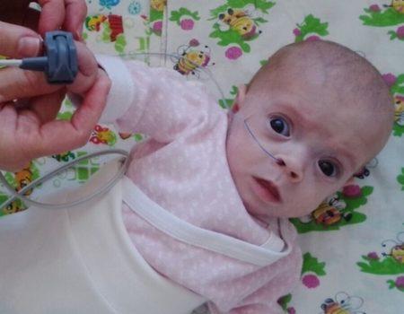У Кропивницькому збирають кошти на кисневий апарат для 10-місячної Анни