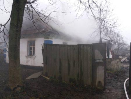 На Кіровоградщині під час пожежі загинув 41-річний чоловік. ФОТО