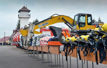 Як рятувальникам Кіровоградщини вручали нові пожежні машини та бойовий одяг. ФОТО, ВІДЕО