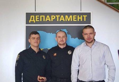 Департамент патрульної поліції Національної поліції України відзначив чотирьох представників Кропивницького. ФОТО