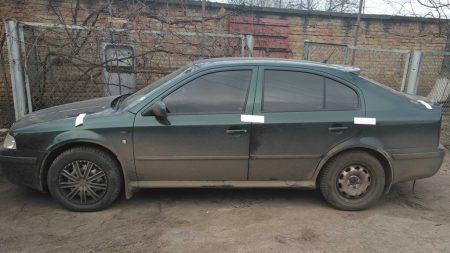 На Кіровоградщині неповнолітній викрав авто. ФОТО