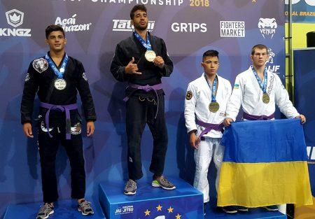 Кропивницький джиутжитсер став призером чемпіонату Європи