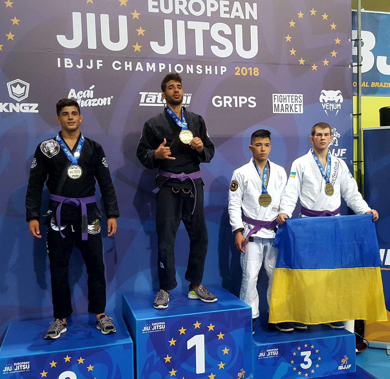 Кропивницький джиутжитсер став призером чемпіонату Європи - 1 - Спорт - Без Купюр