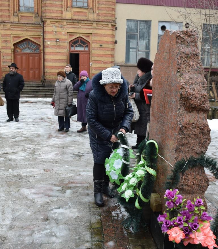 Без Купюр У Кропивницькому вшанували жертв Голокосту. ФОТО Життя  сквер Кропивницький Голокост
